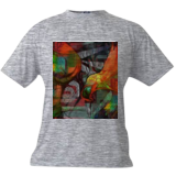 orange bird, Digital Art / Computer Art, Abstract,Modernism, Animals, Digital, By Nebojsa Strbac