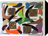 ORDERLY CHAOS, Paintings, Abstract, Composition, Mixed, By Zenon Wladyslaw Rozycki