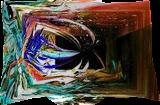 Oribilis III, Digital Art / Computer Art,Paintings, Abstract, 3-D,Avant-Garde,Fantasy,Grotesque, Acrylic,Digital, By Sévi Cabell Maghee