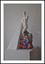 Ostacolo e consapevolezza, Sculpture, Impressionism, Figurative, Mixed, By Diego Alaimo Di Loro