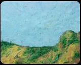 Paisaje, Paintings, Expressionism, Landscape, Acrylic,Painting, By Jose Peyó Vazquez