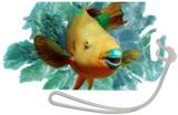 Parrotifish in the Seafans, Digital Art / Computer Art, Impressionism, Animals, Photography: Premium Print, By Glenn Lathi