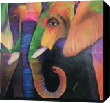 Party animals, Paintings, Pop Art, Fantasy, Acrylic, By Gayle Conklin Lowe