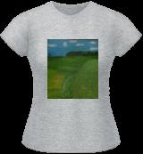 Ladies T-Shirt (Athletic Grey)