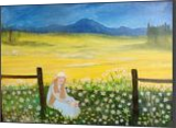 Peace, Paintings, Fine Art,Realism, Inspirational,Landscape,People, Canvas,Oil,Painting, By Lana karin Fultz