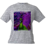 Peacock, Digital Art / Computer Art, Abstract, Animals, Digital, By Joshua Bindseil