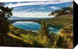Phelps Lake, Photography, Fine Art,Photorealism, Landscape,Nature, Photography: Premium Print, By Mike DeCesare