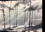 Pine dunes, Paintings, Impressionism, Landscape, Oil, By Stephen Keller