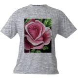 Pink Rose, Paintings, Fine Art, Still Life, Acrylic, By adam santana