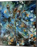 plant constellations, Paintings, Abstract,Impressionism, Botanical,Celestial / Space,Floral, Acrylic,Canvas, By Marta Kuźniar