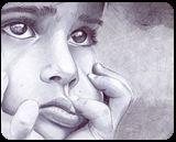 portrait of a girl, Drawings / Sketch, Realism, Children,People,Portrait, Mixed, By Oleg Kozelskiy