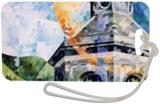 Pouhon Pierre le grand a Spa, Paintings, Fine Art, Architecture,Figurative, Canvas,Oil, By Beatrice BEDEUR