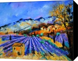 Provence 653, Paintings, Expressionism, Landscape, Canvas, By Pol Henry Ledent