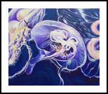 Purple Ascent, Paintings, Fine Art,Photorealism,Realism, Animals, Canvas,Oil, By Patrizia Grilli