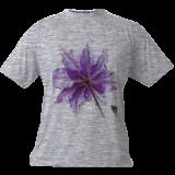 Purple flower, Digital Art / Computer Art, Abstract, Floral, Digital, By Joshua Bindseil