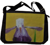 Purple Iris, Paintings, Impressionism, Botanical, Oil, By MD Meiser