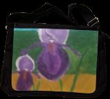 Purple Irises, Paintings, Impressionism, Landscape, Oil, By MD Meiser