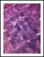 Purple Love, Carvings, Commercial Design, Decorative, Fiber, By Melanie Brummer