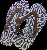 Purple Mandalas, Carvings, Commercial Design, Decorative, Fiber, By Melanie Brummer