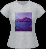 Purple Summer Evening, Paintings, Chance,Impressionism, Botanical,Decorative,Landscape, Acrylic,Mixed, By Angie Livingstone