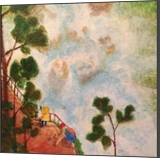 Pynchon Falls, Paintings, Impressionism, Landscape, Acrylic, By Eric Kirkpatrick