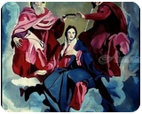 Queen of Heaven, Paintings, Abstract,Chance, Religious, Acrylic,Canvas, By Amal Augustine