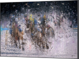 Racing, Illustration, Paintings, Impressionism, Composition, Mixed, Painting, By Angelo