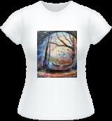 Rainbow Bridge, Paintings, Fine Art,Surrealism, Architecture,Landscape,Nature, Acrylic, By Marta Kuźniar