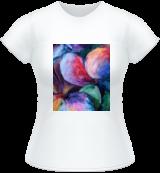 rainbow flowers, Paintings, Fine Art, Decorative,Floral, Acrylic,Canvas, By Marta Kuźniar