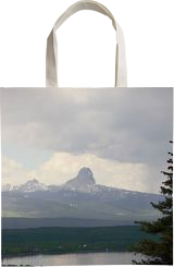 Rainstorm Over Chief Mountain, Verticle, Photography, Photorealism, Landscape, Photography: Metal Print,Photography: Photographic Print,Photography: Premium Print,Photography: Stretched Canvas Print, By Tracey Eileen Vivar