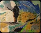 Ravine, Pastel, Impressionism, Landscape, Pastel, By MD Meiser