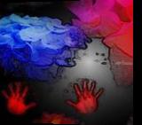 Red and Blue meet, Digital Art / Computer Art, Expressionism, Anatomy,Botanical, Digital, By Bernard Harold Curgenven
