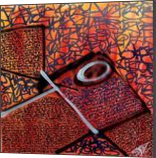 Red Hysteria, Paintings, Abstract,Fine Art, Decorative, Acrylic,Canvas, By Marco Stoz Stazzini