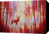 Red King, Paintings, Abstract,Expressionism, Animals, Oil, By Gill Bustamante