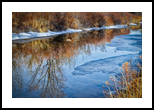Reflections On Ice Water, Photography, Fine Art, Nature, Photography: Stretched Canvas Print, By Jim Stewart