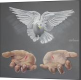 Release, Chalk,Drawings / Sketch, Realism,Symbolism, Religious, Pastel, By Dave Oakley