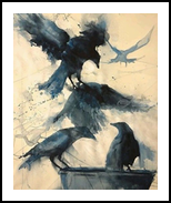 RESCUE, Paintings,Paper Art, Expressionism,Fine Art, Wildlife, Acrylic, By Clive Micah Mulundira
