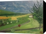 Richfield, Paintings, Impressionism, Landscape, Oil, By MD Meiser