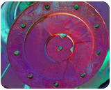 Rims n' Bolts, Digital Art / Computer Art, Abstract, Pop Art, Conceptual, Photography: Photographic Print, By Rich Mengel
