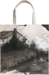 Risky Trespass, Paintings, Impressionism, Landscape, Watercolor, By Stephen Keller
