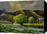River in Bohan, Paintings, Expressionism, Landscape, Canvas, By Pol Henry Ledent