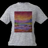 River Waterfall, Paintings, Impressionism, Environmental art, Canvas, By Louis Pretorius