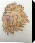Roar of the Majestic Lion, Drawings / Sketch, Fine Art, Animals,Wildlife, Mixed,Pencil, By Liam Banzon Ramos