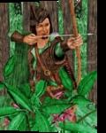 Robin Hood, Digital Art / Computer Art,Drawings / Sketch,Graphic,Illustration, Fine Art,Realism, Botanical,Fantasy,Historical,Mythical,Narrative,Nature,People,Portrait, Digital,Pencil, By Marty Jones