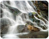 Rocky Brook Falls, Photography, Fine Art,Photorealism, Landscape,Nature, Photography: Premium Print, By Mike DeCesare