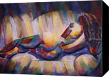 Roundism - 02-02-18, Paintings, Abstract,Cubism,Fauvism,Fine Art,Realism, Anatomy,Composition,Erotic,Figurative,Inspirational,Nudes,People, Oil, By Corne Akkers