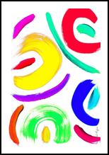 Salade de Fruits, Digital Art / Computer Art,Paintings, Abstract, Avant-Garde, Acrylic,Digital, By Sévi Cabell Maghee