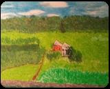 Sand Valley in Spring, Pastel, Impressionism, Landscape, Pastel, By MD Meiser