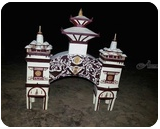Sankaracharaya gate, Paper Art, Fine Art, Architecture, Mixed, By Raj Rauniyar
