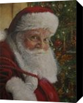 SANTA CLAUS 2016, Paintings, Fine Art,Realism, Portrait, Canvas,Oil, By Tom Furey